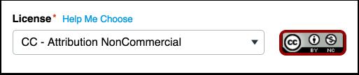 Erkännande icke-kommersiell