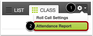 Open Attendance Reports