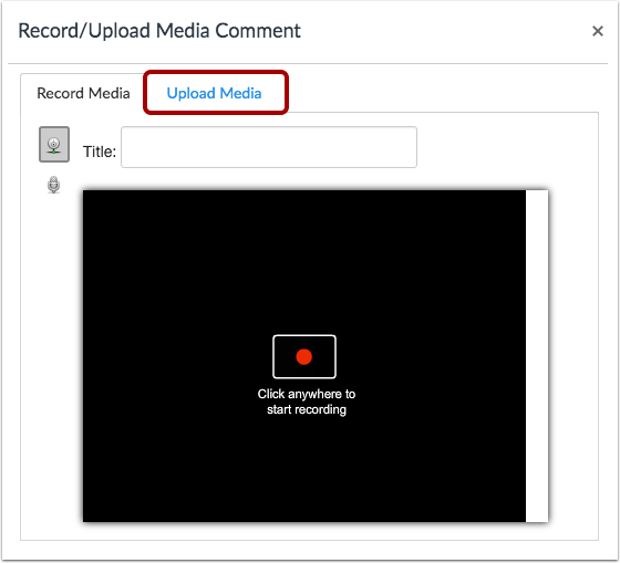 Subir contenido multimedia