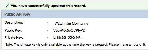 Public API Key