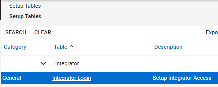 "Click on ""Integrator Login"""