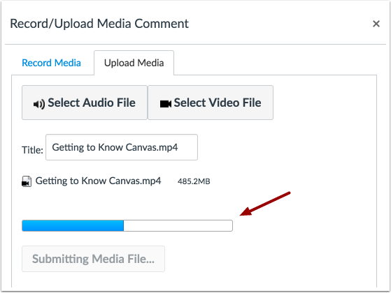 Upload Video File