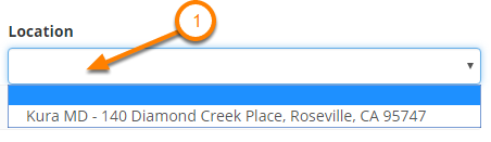 Select a Location (Optional)