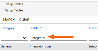 "Search for ""integrator"""