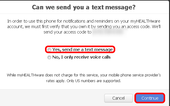 -Verifying a Text Enabled Phone Number