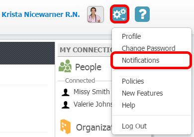 1.  Access Your Account Notifications