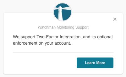 Example In App notifications
