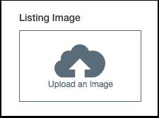 Add Listing Image