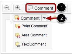 Usar herramienta de comentario