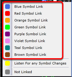 3. To change this behavior, set your windows to different symbol link groups.