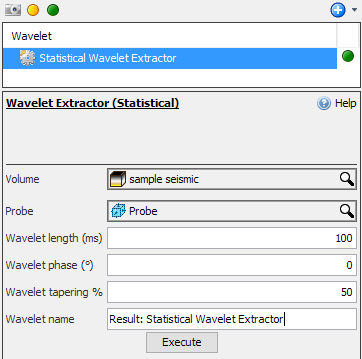 Extract a wavelet