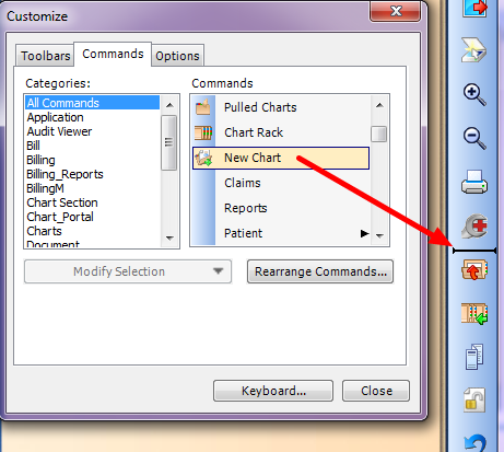 4. Add the Button to Toolbar