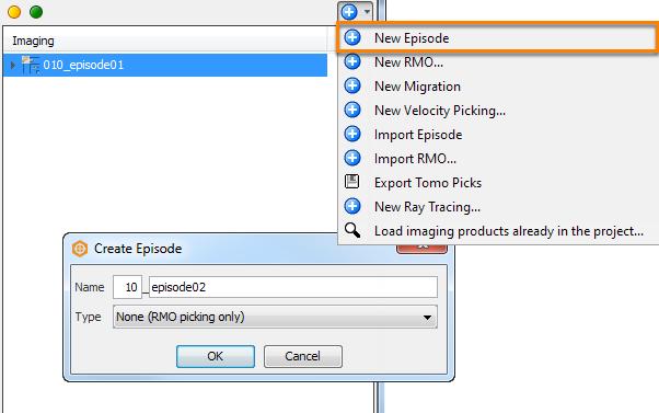 Create new episode