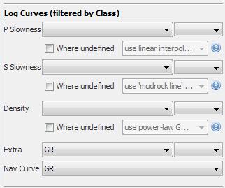 Define log curves