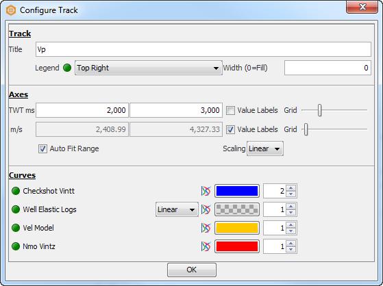 Configure Track