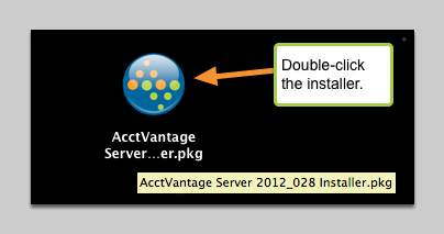 3. Quit the current version of AV and run the package installer you downloaded.