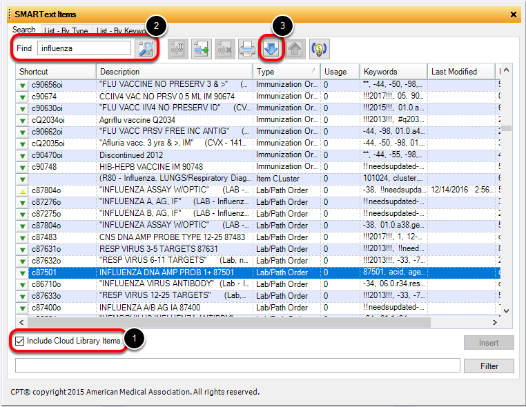Downloading Order Entry and Immunization Order Items