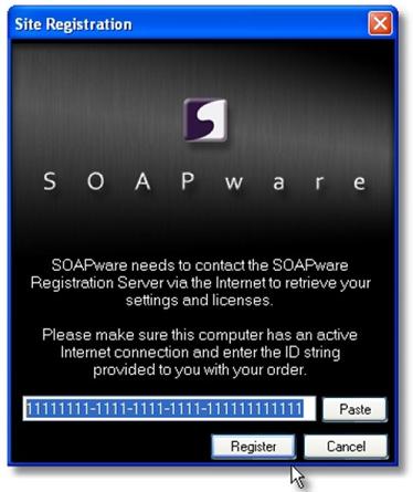 3. Register SOAPware