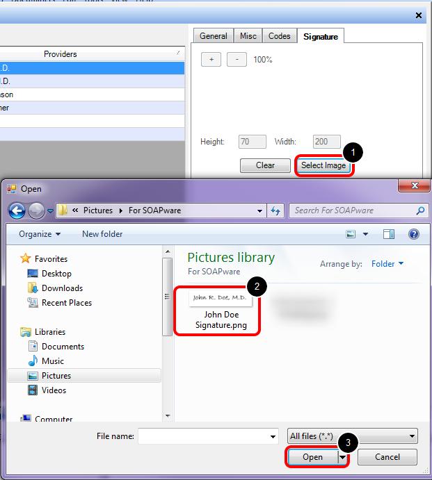 4. Import Image to SOAPware