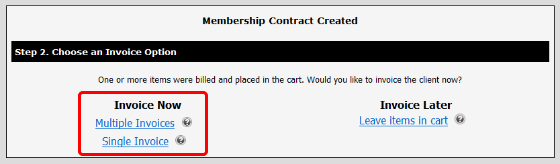 Invoice Contract