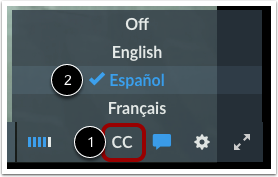 Enable Captions