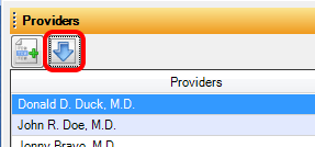 5. Update Providers in SOAPware