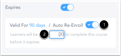 Confirm Auto Re-Enroll