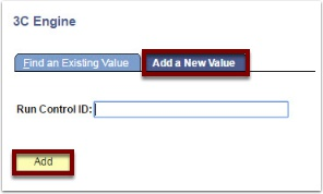 3C Engine Add a New Value page