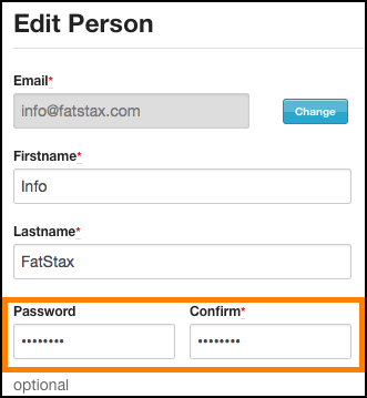 <Optional> Administrators can choose a password for a user and reset their account