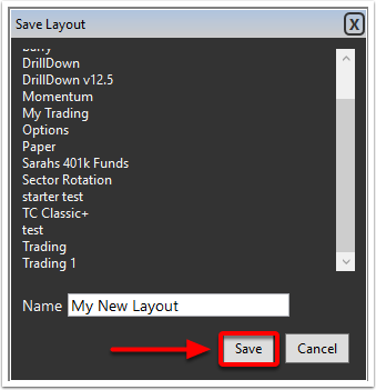9. Click on the save button.