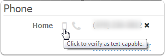 Verify Phone Number at a Later Date
