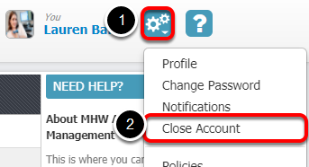 1.  Access Your Account