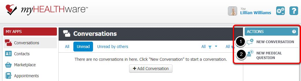 1. Start a New Conversation