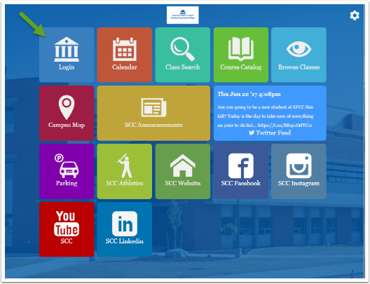 College login tile