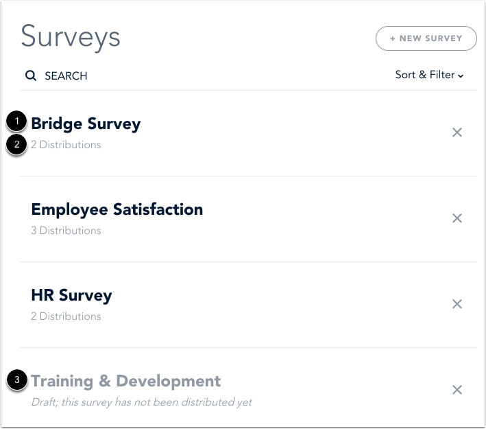 View Surveys