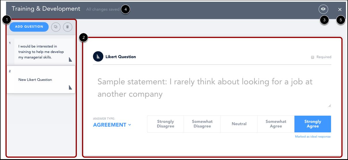 View Survey Content