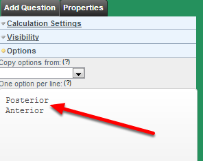 "To generate ""Aspect"" add in an Option Calculation with options Posterior and Anterior"