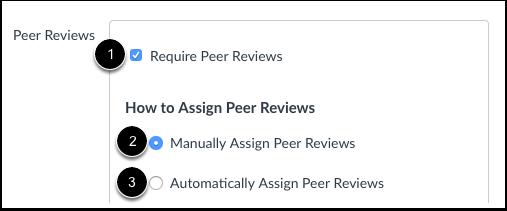 Exiger des révisions par les pairs