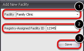 Select a Facility
