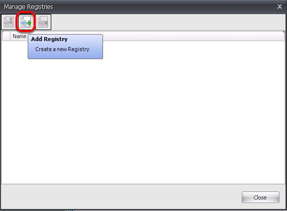 Add a Registry