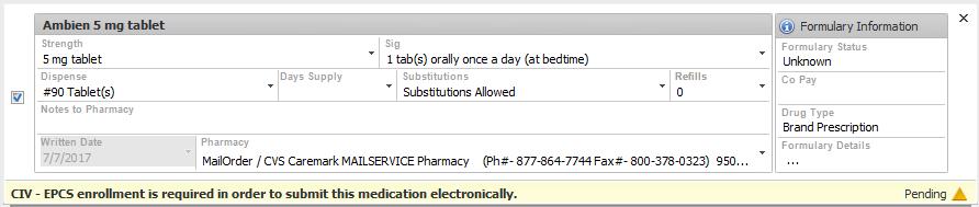 ePrescribe Patient Refill Request