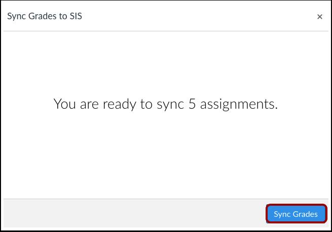 Sync Grades