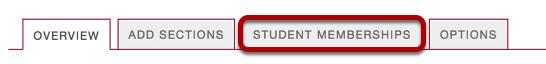 Click Student Memberships.