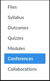 Åpne konferanser.