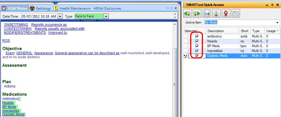 Step 8 - SMARText Quick Access