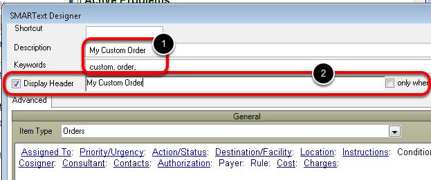 Enter Order Information