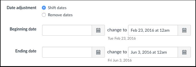 Adapter les dates d'échéance et d'événements