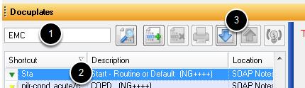 EM Coder Compatible Docuplates
