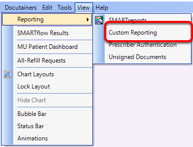 Custom Patient Demographic Reporting for a Mailing Label
