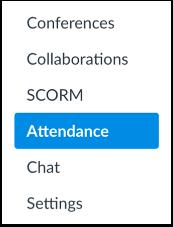 Click Attendance Link
